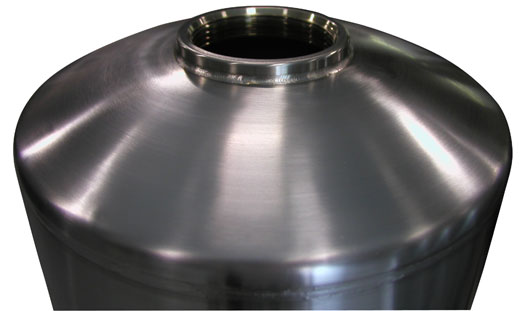 "18"" Stainless Steel Mineral Tanks"