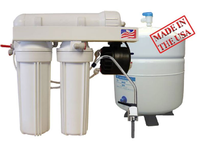 4-Stage Reverse Osmosis Systems