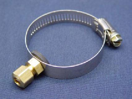 Hose Clip Drain Connector