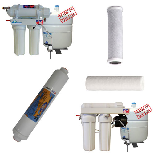 Pro-Series Reverse Osmosis Systems (Made in the USA by Wood Bros.)