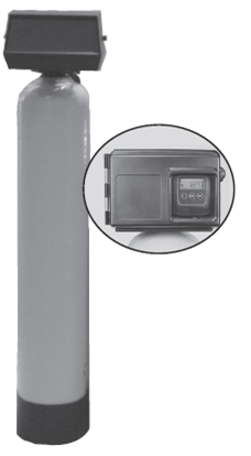 Fleck 2510 12-Day Filter Units - Light Turbidity - Micro-Z Ag